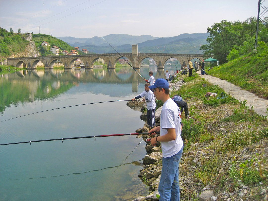 Fishing On The Drina River Tourist Organization Of