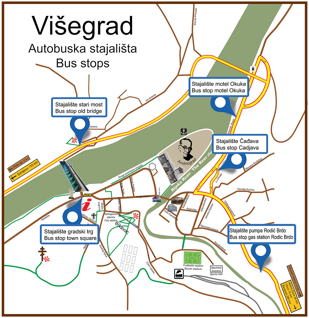 Visegrad Bus Schedule Tourist Organization Of Municipality Of