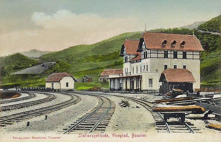 Rezultat slika za višegrad 1906